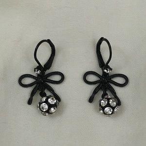 New Betsey Johnson Bow Earrings